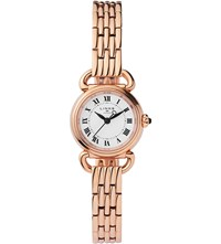 Links Of London 6010.2174 Driver Mini Rose Gold Plated Stainless Steel Watch