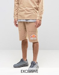 Ellesse Shorts With Drop Crotch Stone