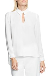 Vince Camuto Women's Keyhole Neck Blouse New Ivory