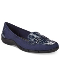 Karen Scott Jazmin Flats Only At Macy's Women's Shoes Navy