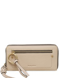 See By Chloe Patti Leather Zip Around Wallet