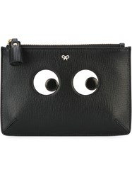 Anya Hindmarch 'Eyes' Pouch Black