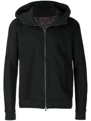 Devoa Hooded Jacket Black