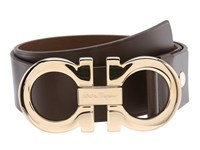 Salvatore Ferragamo Adjustable Belt Hickory Men's Belts Brown