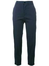 Barena Cropped Pants Blue