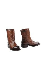 Preventi Ankle Boots Brown