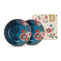 Pip Studio Spring To Life Plates Set Of 2 Blue