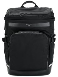 Michael Kors Front Pocket Backpack Black