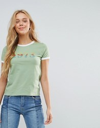 Pepe Jeans 1973 Retro T Shirt Lt Green