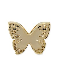 14K Gold Plated Butterfly Charm Kendra Scott