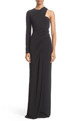 Alexander Wang Women's Draped Asymmetrical One Sleeve Gown