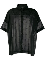 Casey Casey Loose Fit Shirt Black