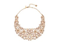Kate Spade Pearl Street July Statement Necklace Blush Multi Necklace Pink