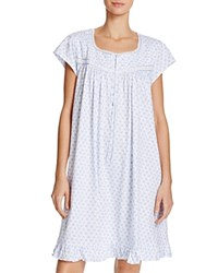 Eileen West Short Nightgown Blue