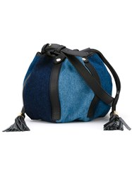 See By Chloa 'Vicky Evening' Crossbody Bag Blue