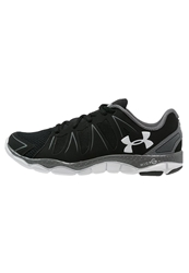 Under Armour Micro G Engage Ii Lightweight Running Shoes Black Graphite White