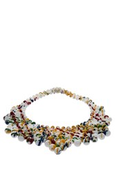 Del Duca Audrey Art Bib Necklace Multi