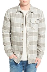 Men's O'neill 'Shasta' Quilted Flannel Shirt