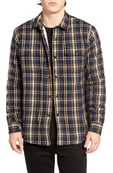 Obey Men's Liam Lined Flannel Jacket
