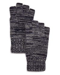 Bloomingdale's The Men's Store At Fingerless Cashmere Gloves Navy Grey Twist