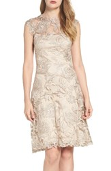 Tadashi Shoji Women's Noelle Floral Fit And Flare Dress