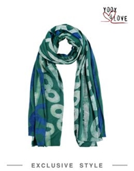 Studio 189 Oblong Scarves Green