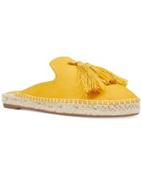 Nine West Val Mules Women's Shoes Yellow