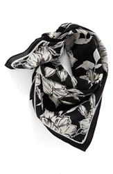 Halogenr Women's Halogen Bella Floral Square Silk Scarf