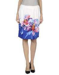 Vdp Collection Skirts Knee Length Skirts Women White