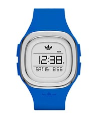 Adidas Denver Silicone Stainless Steel Watch Blue