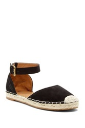 14Th And Union Espadrille Leather Sandal Black