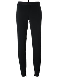 Dsquared2 Skinny Cigarette Trousers Black