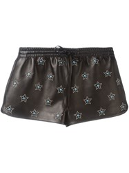 Valentino 'Star Studded' Shorts Black