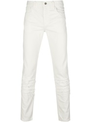 Phenomenon Ripped Slim Fit Jeans White