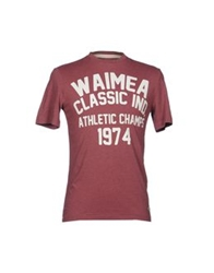 Waimea Short Sleeve T Shirts Grey