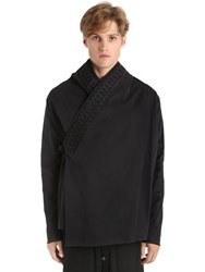 Damir Doma Brushed Heavy Cotton Drill Kimono Jacket