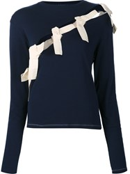 Jacquemus 'Le T Shirt Coupe' Top Blue