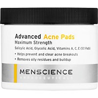 Menscience Men's Advanced Acne Pads No Color