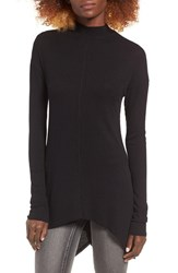 Sun And Shadow Women's Mock Neck Knit Tunic