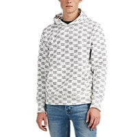 Ksubi Fake Cotton Terry Hoodie White