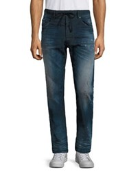 Diesel Narrot Slim Fit Distressed Drawstring Jeans Denim