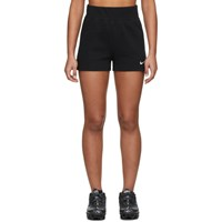 Nike Black Ribbed Bike Shorts