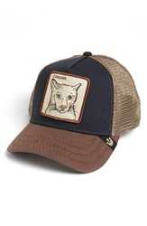 Goorin Bros. 'Animal Farm Cougar' Trucker Hat Navy