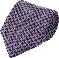 Ralph Lauren Black Label Geometric Neck Tie Purple