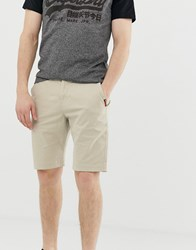 Superdry Chino Shorts In Sand Tan