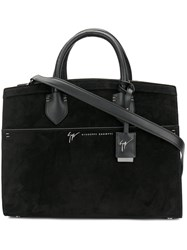 Giuseppe Zanotti Design Angelina Tote Bag Women Leather Suede One Size Black