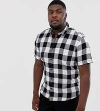 Only And Sons Check Shirt White