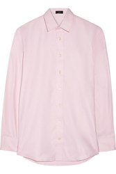 Joseph Joy Cotton Oxford Shirt Pink