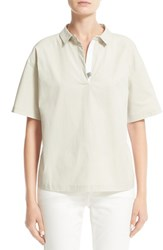Fabiana Filippi Women's Woven And Jersey Shirt