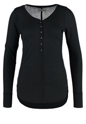 Abercrombie And Fitch Long Sleeved Top Anthracite